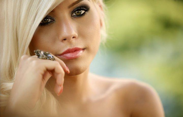 beautiful, girl, nice, face, close-up, makeup