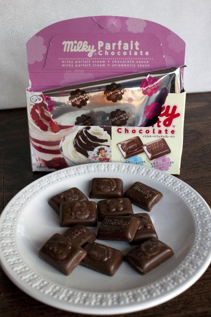 candies, milk ,chocolate, package,  sweetness