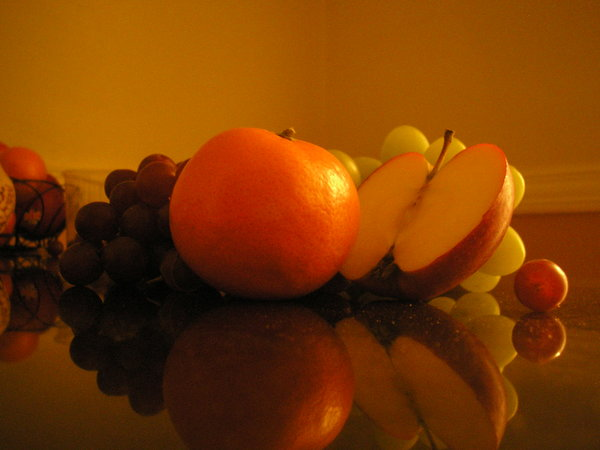 fruit, apple, orange, grape, clove