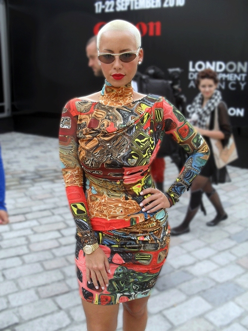 amber rose, beautiful, woman, dress, cool, figure