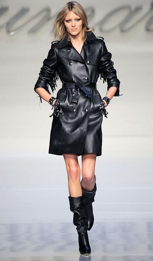fashion, style, model, beautiful, girl, black, leather