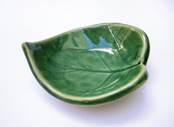plate, sheet, herbs, unique, interior, tableware
