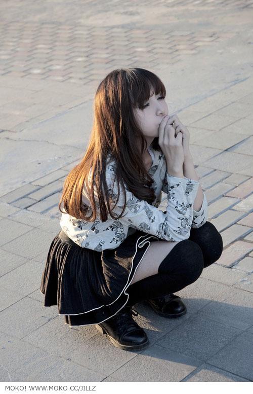 young, girl, beauty, photo, dress, asian