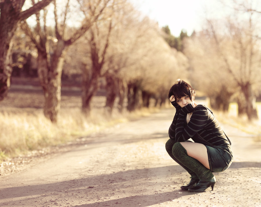 road, fall, girl, leggings, short, skirt