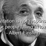 albert einstein, quotes, sayings, falling in love, love, wise