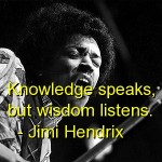 jimi hendrix, quotes, sayings, knowledge, deep, wise