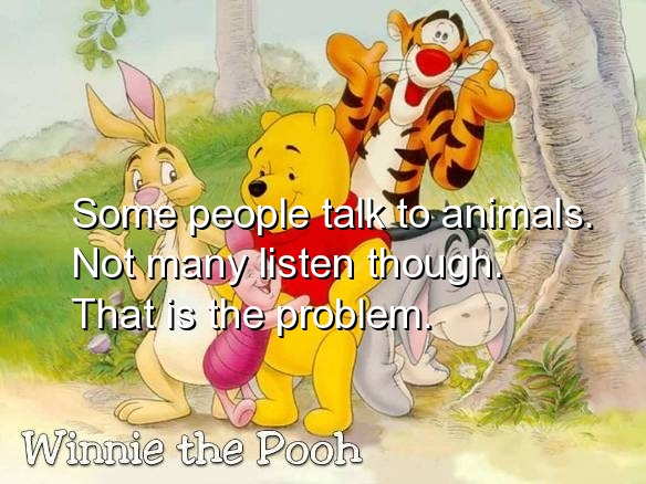 winnie the pooh, quotes, sayings, quote, cute, animals, problems