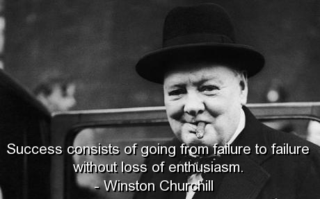 winston churchill quotes sayings quote success failure enthusiasm fav images amazing. Black Bedroom Furniture Sets. Home Design Ideas