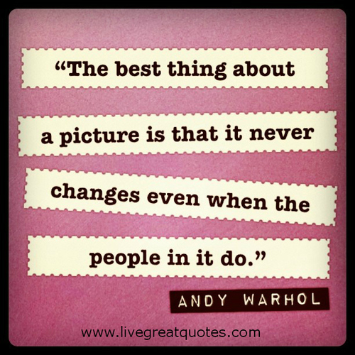 quote, saying, life, deep, famous, andy warhol