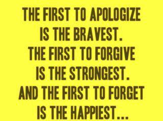 Brainy Quotes Life Sayings Apologize