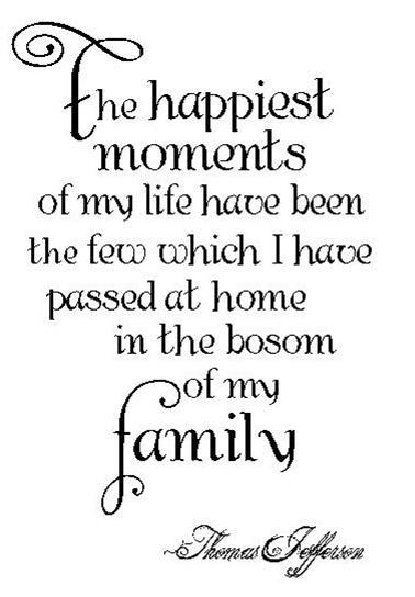 my family life essay