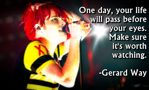 Famous, Wise, Quotes, Sayings, Gerard Way