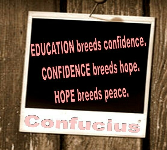 confucius, quotes, sayings, education, confidence, hope