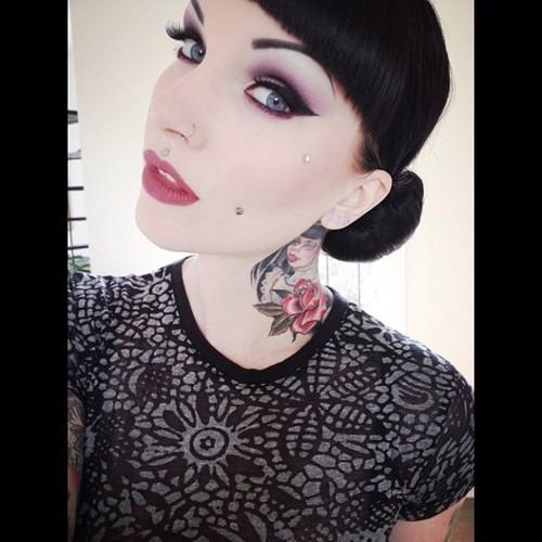 girls, girl, tattoo, design, idea, eyes