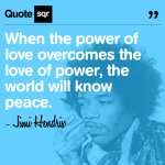jimi hendrix, quotes, sayings, love, peace, inspirational