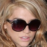 kesha, celebrity, singer, artist, girl, blonde, sunglasses