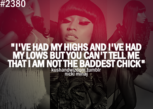 Nicki minaj and drake love quotes