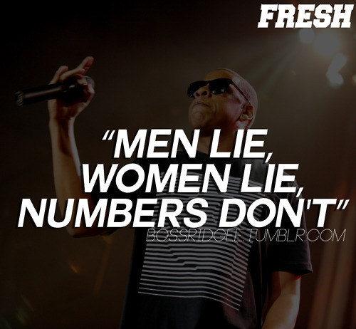 Rapper, Jay-z, Quotes, Men Lie, Women Lie
