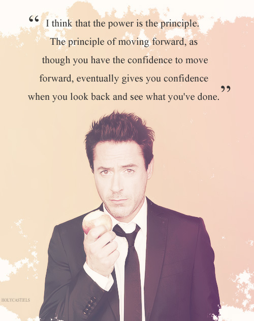 robert downey jr, quotes, sayings, confidence, power