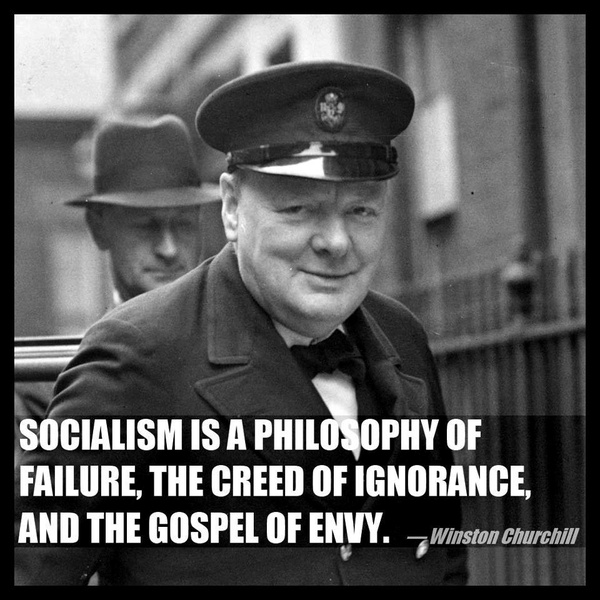 Quote By Winston Churchill: Winston Churchill, Quotes, Sayings, On Socialism, Famous