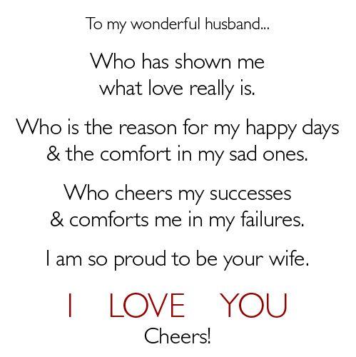 I Love You Husband Images To husband, i love you