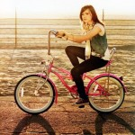 ellen page, celebrity, actress, woman, bike