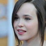 ellen page, celebrity, actress, woman, face, closeup