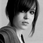 ellen page, celebrity, actress, woman, hairstyle