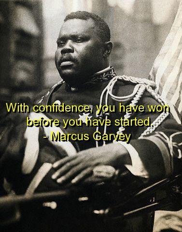 marcus garvey, quotes, sayings, confidence, wisdom