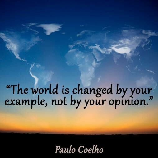essay on change & the world changed for you