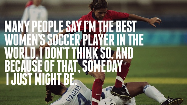 Soccer, Mia Hamm, Quotes, Sayings, Best Player