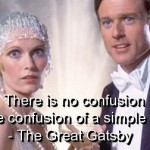 the great gatsby, quotes, sayings, confusion, meaningful quote