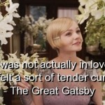 the great gatsby, quotes, sayings, love, curiosity, words