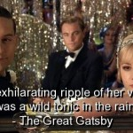 the great gatsby, quotes, sayings, voice, beauty, quote