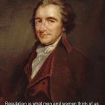 thomas paine, quotes, sayings, witty, brainy, reputation