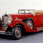 1931 Mercedes Benz 770K, red, cabriolet, car