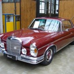 1966 Mercedes Benz 250 SE Cabriolet, red car, photos, retro