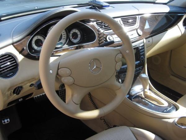 Mercedes Cls 2006 Interior 2006 Mercedes Benz Cls 55 Amg