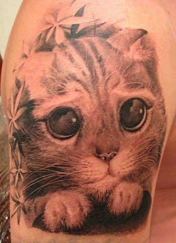 animals tattoos 3d tattoo designs ideas cat eyes fav images amazing pictures. Black Bedroom Furniture Sets. Home Design Ideas