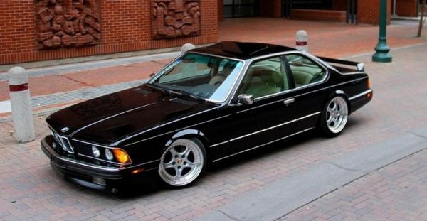 Black Car Bmw E24 635 Csi Car Street Photos Fav