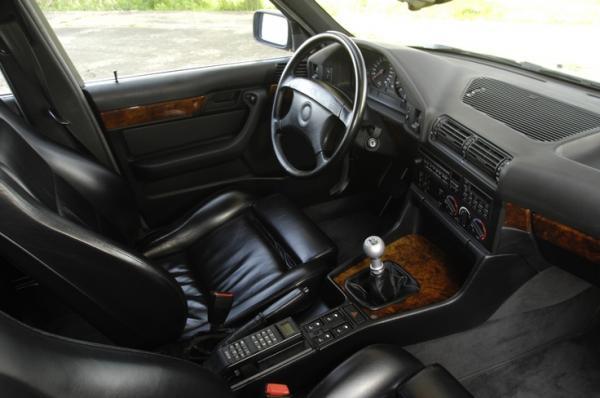 Bmw E34 M5 Touring Interior Design Black Leather Fav