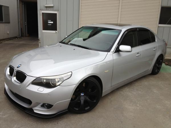 BMW E60 545i Design Silver Car Images Fav Images