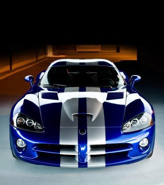 Dodge Viper, Car, Sports, Cars, Design, Vehicle, Blue