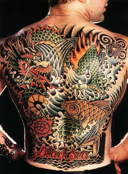 Japanese Tattoos Oriental Tattoo Designs Ideas Art