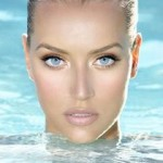 make up tips for blue eyes, mineral makeup, girl, face, water