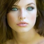 make up tips for green eyes, beauty, girl, face