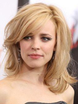 medium hairstyles rachel mcadams haircut woman Haircut Woman