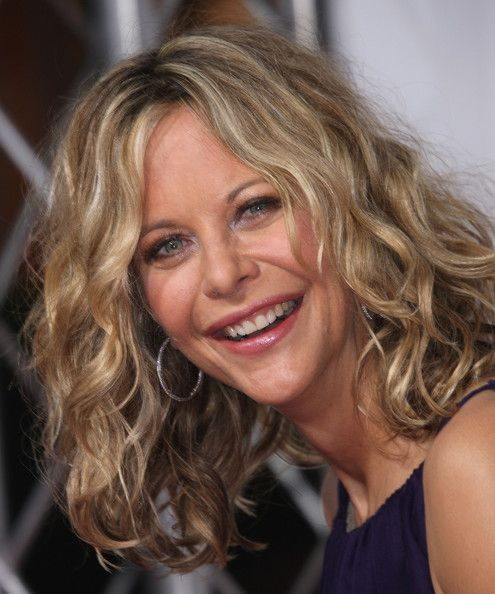 Meg Ryan Medium Hairstyles Celebrity Haircut Smile Fav
