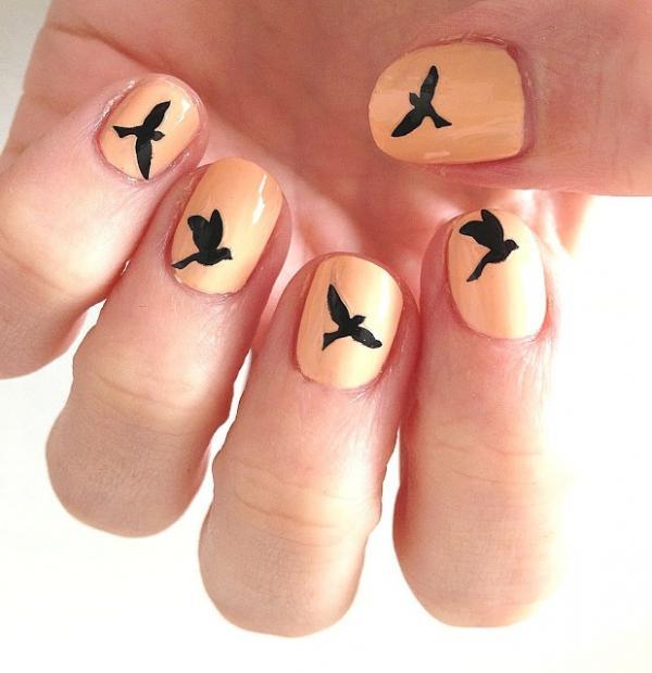 Nail Tattoos, Birds, Cute, Design, Images
