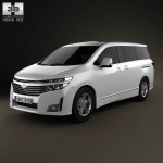 nissan elgrand, car, van, design, vehicles, photo